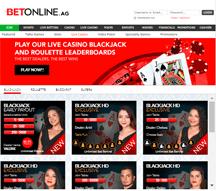 live dealer page