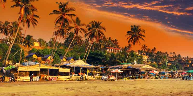 North Goa tourist destination